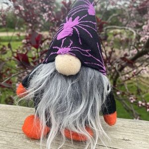 NEW adorable Halloween spooky fabric gnome